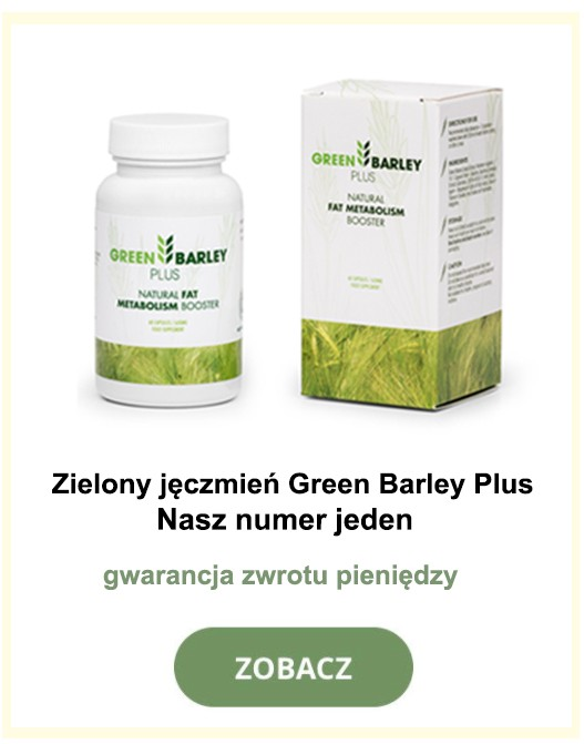 zielony jęczmień w proszku cena