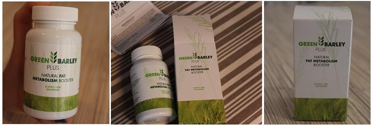 zdjęcia produktu - jęczmień green barley plus