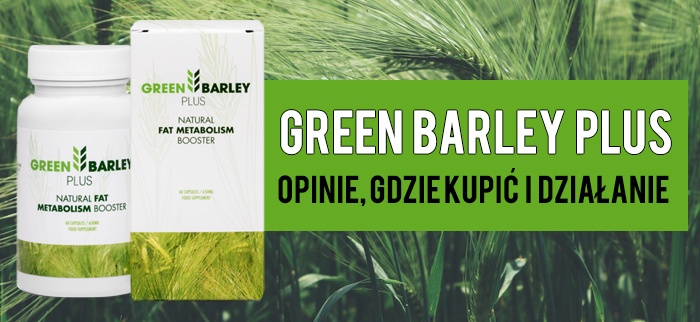green barley plus tablets