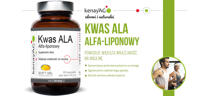 kwas ala alfa liponowy kenayAG
