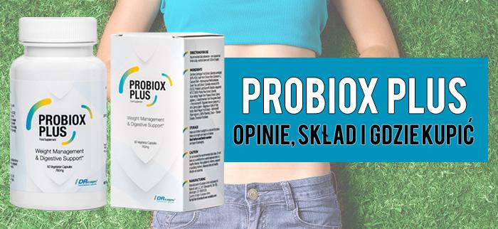 Probiox Plus - opinie, skład i gdzie kupić