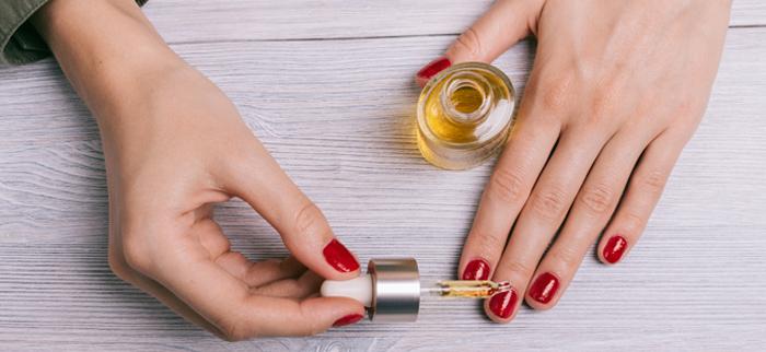 olejek z opuncji na paznokcie