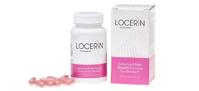 Locerin - tabletki na włosy dla kobiet