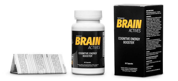 Brain Actives na pamięć i koncentację