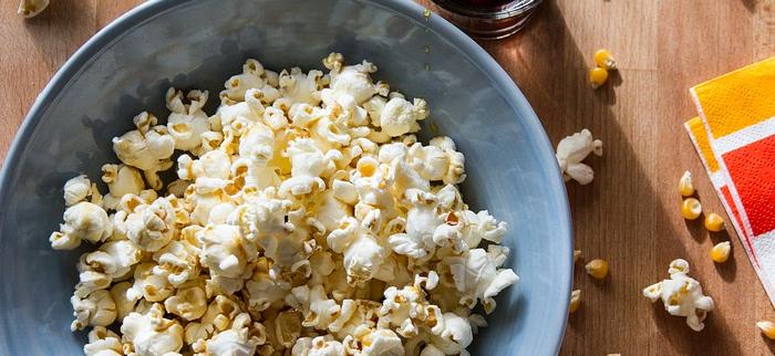 warości odżywcze popcornu