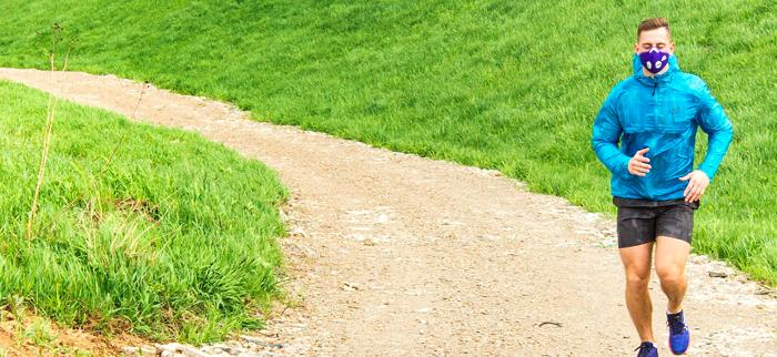 maseczka antysmogowa a bieganie